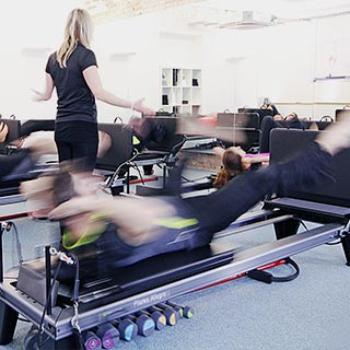 Jumpboard Pilates
