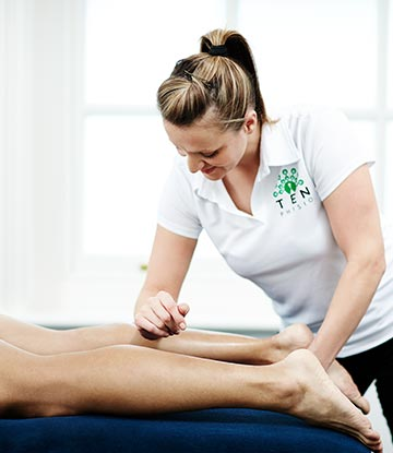Massage at Ten Tottenham Court Road