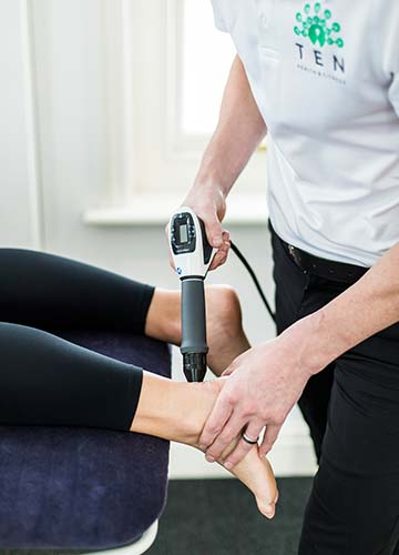 Shockwave Therapy at Ten